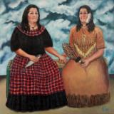 The Two Norma's (after Frida Kahlo)