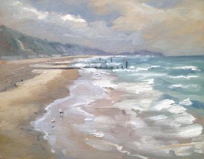 Bournemouth, 10x8 ins, oils on board