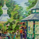 Cafe & Bandstand, Swindon Old Town Gardens