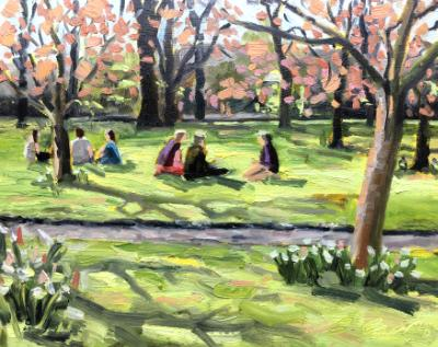 The Picnic, Swindon Old Town Gardens